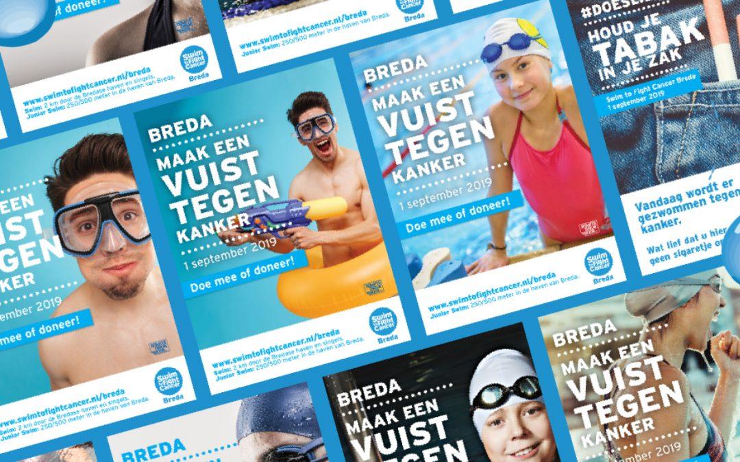 Swim to Fight Cancer Breda